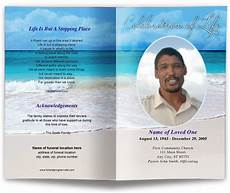 Memorial Pamphlet Template Free Free Editable Funeral Program Template Template Business