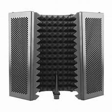 331x1060mm Panels Foldable Studio Microphone Isolation 331x1060mm 5 panels foldable studio microphone isolation