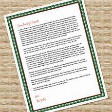 Microsoft Word Christmas Letter Template Printable Christmas Letter Paper Microsoft Word Template