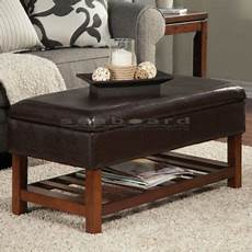 upholstered in espresso leatherette this coaster brown