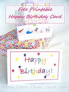 Photo Card Birthday Free Printable Birthday Card