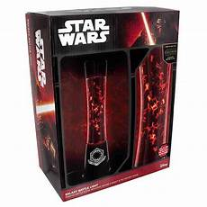 Star Wars Episode Vii Galaxy Battle Light A Red Star Wars Glitter Lamp Featuring Tiny X Wings And