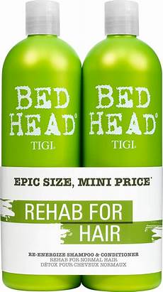 tigi bed antidotes 1 re energize shoo and