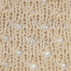 staggered eyelet stitch knitting loom loom knitting by