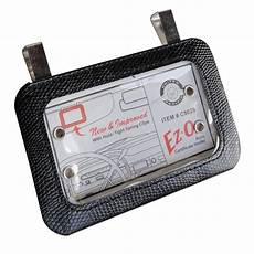 Nostalgic Auto Registration Card Holder For Sun Visor