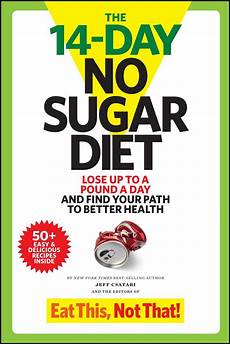 the 14 day no sugar diet book by jeff csatari official