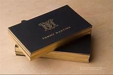 Elegant Business Cards Free Gold Foil Monogram Elegant Black Business Template