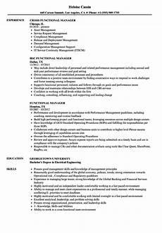 Functional It Resume Functional Customer Service Resume Examples Best Resume