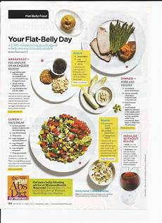 flat belly meal plan a day of delicious meals that