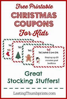 Coupons For Free Printable Christmas Coupons For Kids Money Saving 174