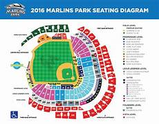 Marlins Seating Chart Marlins Park Hi Res Seating Chart Miami Marlins