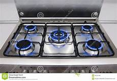 Lighting A Gas Stove Kitchen Gas Flames Stock Photo Image Of Cooking Metal