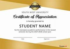 Certificate Of Recognition For Honor Students Download Certificate Of Appreciation For Students 03