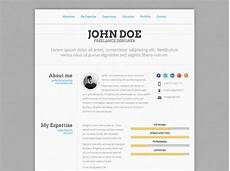 Resume Format Website 50 Professional Html Resume Templates Cv Resume Template