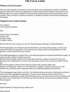 Cover Letter In A Resumes Resume Cover Letter What To Include 10 Best Examples