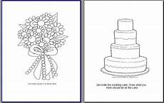 Free Printable Wedding Coloring Books My Version Of A Activity Book Pic Heavy