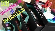 diy maquillaje diy organizador de maquillaje con cajitas sassybox