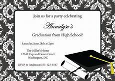 Graduation Invitation Maker Free Free Printable Graduation Party Invitation Templates 2014