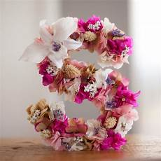 letras con flores letras medianas 17 5 cm marz 246 bcn