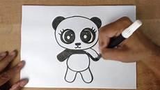 como desenhar um urso panda bem f 193 cil desenhos f 225 ceis