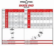 Shin Pads Size Chart Pro Tec Skate Pads Size Chart