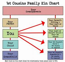 Family Cousin Relationship Chart What Cousin Are They How To Understand Family