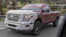 Nissan Titan 2020 by 2020 Nissan Titan Xd Spied Out Testing In Autoblog