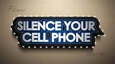 Silence Your Cell Phone Silence Cell Phone Stroke Youtube