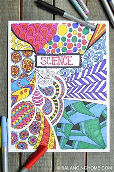 Cover Page For Notebook 10 Creative Amp Easy Ways To Decorate School Notebooks