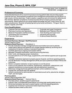Pharmacy Manager Resume Professional Assistant Pharmacy Manager Templates To