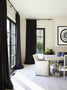 Curtain Frame Designs 30 Stylish Interior Designs With Black Curtains