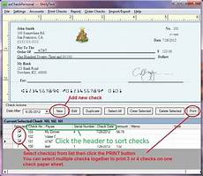 Filled Out Check How To Fill Out A Check