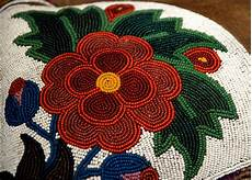 cree saddle beadwork ben r flickr