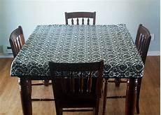 plastic table clothes running with scissors fitted simple tablecloth