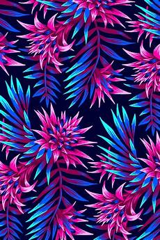 neon floral iphone wallpaper tropical floral print design inspired by the beautiful