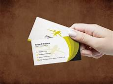 Advertising Agency Visiting Card Design Travel Agency Business Card Design Template With Images