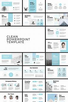 How To Create Template For Powerpoint Pehela Clean Minimal Powerpoint Template 79711