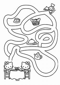 labyrinthe 8 ausmalbilder und basteln mit kindern