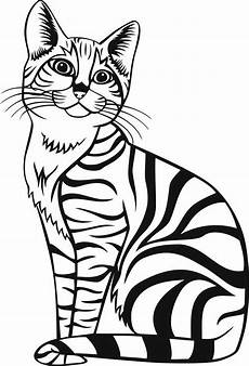 Malvorlage Katze Getigert Free Coloring Pages For