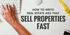 Real Estate Advertising Words Sold How To Write Real Estate Ads That Sell Properties