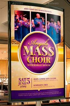 Choir Poster Templates 34 Easter Flyer Templates For Churches Graphicmule