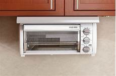 cabinet toaster oven stainless steel home