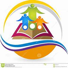education logo stock vector illustration of