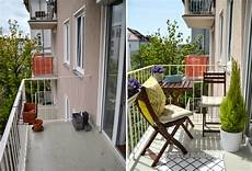 balcony makeover before after kristjaana