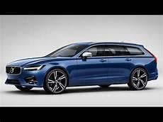 Volvo V90 by Volvo V90 D5 Awd R Design Bursting Blue