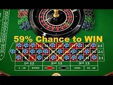 Roulette Strategies Strategy To Win Roulette At 59 Chance Youtube