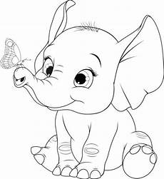 Malvorlagen Baby Elefant Baby Elephant Illustrations Royalty Free Vector Graphics