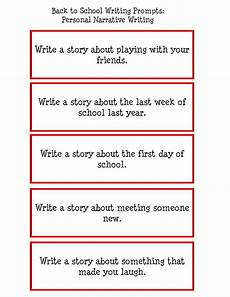 Narrative Essay Prompts Writing Prompts For Elementary School Made It Monday