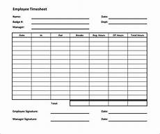 Timesheet Layout 60 Sample Timesheet Templates Pdf Doc Excel Free