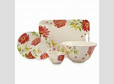 Pastel Floral Melamine Dinnerware   Bed Bath & Beyond